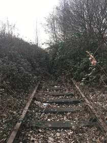 Abandoned train line liverpool uk