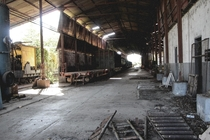Abandoned train station in Sorocaba SP Brazil