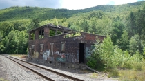 Abandoned Train Station - Poconos PA