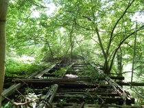 Abandoned train trestle- Washington DC
