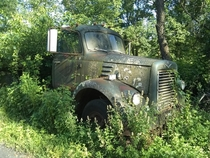 Abandoned truck from Lebanon Chemicals a company that no longer exists