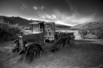 Abandoned truck in Bannack a ghost town in Montana