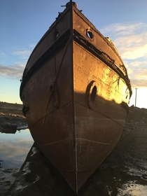 Abandoned tugboat CGS Graham Bell