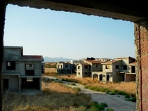 Abandoned unfinished apartments Cyprus