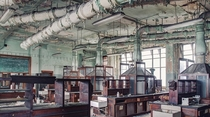 Abandoned University Chemistry Lab in Belgium by Ernest Sebastien