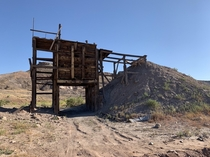 Abandoned uranium mine in Utah