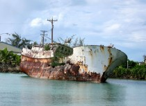 Abandoned vessel Saipan MP