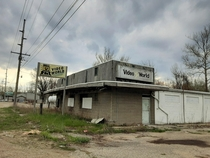 Abandoned video store Used to rent VHS tapes all the time here Located in Warsaw Indiana