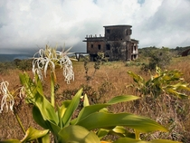 Abandoned villa on top of Bokor mountain