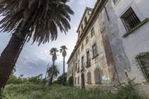 Abandoned villa that was turned into a private asylum in Italy