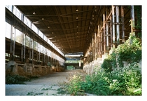 Abandoned Warehouse in Bloomington Indiana
