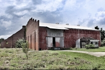 Abandoned warehouse in plain sight from a major highway in Florida