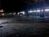 Abandoned warehouse in Richmond CA