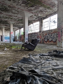 Abandoned Warehouse in Rochester NY