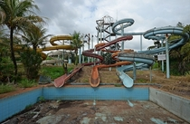 Abandoned Water Park in Paran Brazil