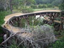 Abandoned Water Slide in Disneys River Country