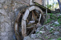 Abandoned Water Wheel in TX