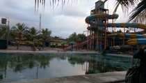Abandoned Waterpark in jakarta photo arent mine