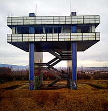 Abandoned watertower Slovakia  gallery in comments