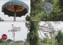 Abandoned Whirligigs park  North Carolina