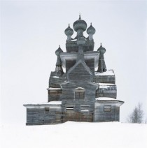 Abandoned Wooden Church Russia