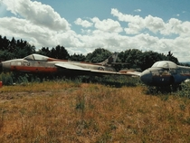 Abandoned World War  Fighter Jets England UK
