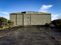 Abandoned WW aircraft hanger Northern Ireland