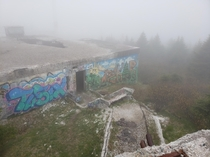 Abandoned WW radar station St Johns NL