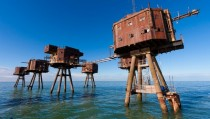 Abandoned WWII Maunsell Army Forts  x-post from rmilitaryporn