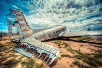 Abandoned WWII military aircraft part of The Boneyard Project