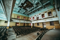 Abandoned -year-old High School Auditorium