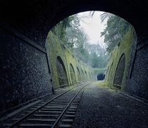 Abandoned -Year-Old Parisian Railway Documented By Photographer Pierre Folk  The -year-old  km long railway called The Chemin de fer de Petite Ceinture encircled Paris during the Industrial Revolution and was used from  to