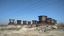Abandonned chemical plant in Yerevan Armenia