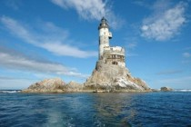 Abandonned Russian nuclear lighthouse in the Arctic