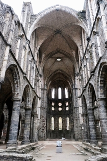 Abbaye de Villers Cathedral  by me