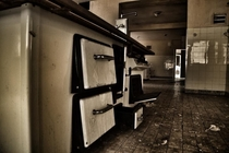 abendone sanatorium kitchen LP Germany