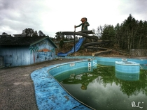 Abondoned Fun City amusement park in Sweden