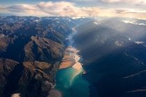 Above Lake Hawea New Zealand OC x ig williampatino_photography