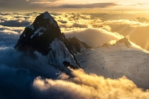 Above the cloud Mt Aspiring New Zealand OC x ig williampatino_photography