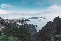 Above the Clouds Huangshan Anhui