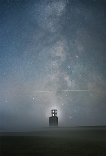 Above the Tower Photo by Samuel King Astronomy Photographer of the Year