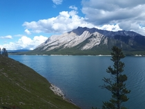 Abraham Lake Alberta Canada Beauty day eh x OC