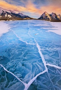 Abraham Lake in Alberta