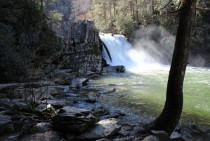 Abrams Falls Cades Cove Tennessee