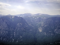 Absaroka Wilderness Beartooth Mountains - Cooke City MT  X