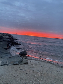 Absolutely gorgeous sunrise Chesapeake Beach MD