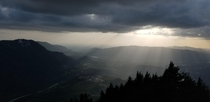 Absolutely incredible view from Mailbox peak in Washington