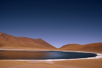 Absurdly beautiful - Miscanti Lake Atacama Desert