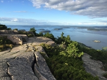 Acadia national park has some pretty good views