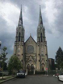 Accidentally came across the church from Dogma a few weeks ago St Peter and Paul Catholic Church in Pittsburgh PA